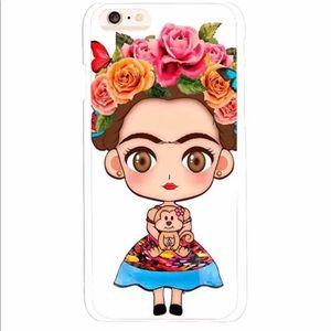 Samsung S8P cover cute Frida Kahlo.